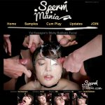 Sign Up To Sperm Mania